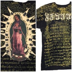 J. Steger Stud Embroidered Our Lady Of Guadalupe